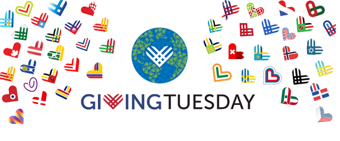 GIVING TUESDAY 2019 with hearts